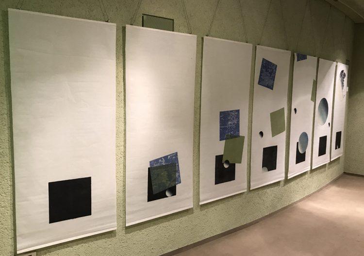 """Blick auf die Reihe """"Quadrat in 7 Folgen"""" von Susanne Werdin"""