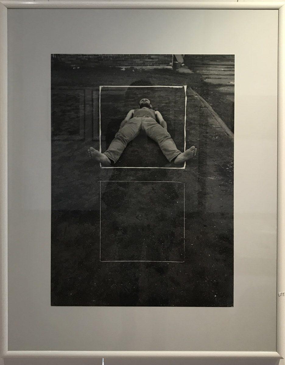 Werk von Hořínek- digitale Fotografie - Serie Spiel mit Perspektive 1999 - 58 x 40 cm