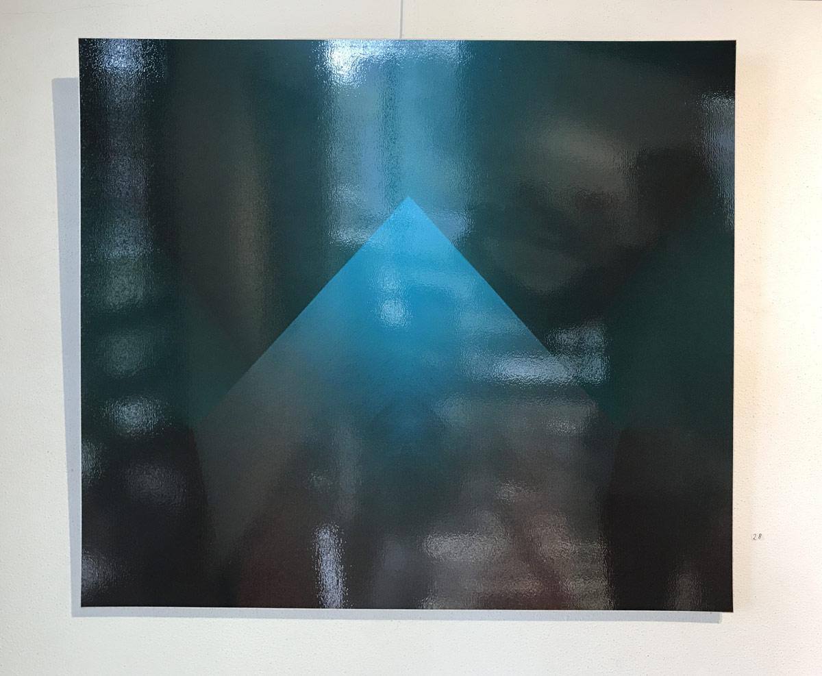 Werk von Hořínek - digitale Fotografie - Serie Spiegeln oder nicht - 2015 60 x 66 cm