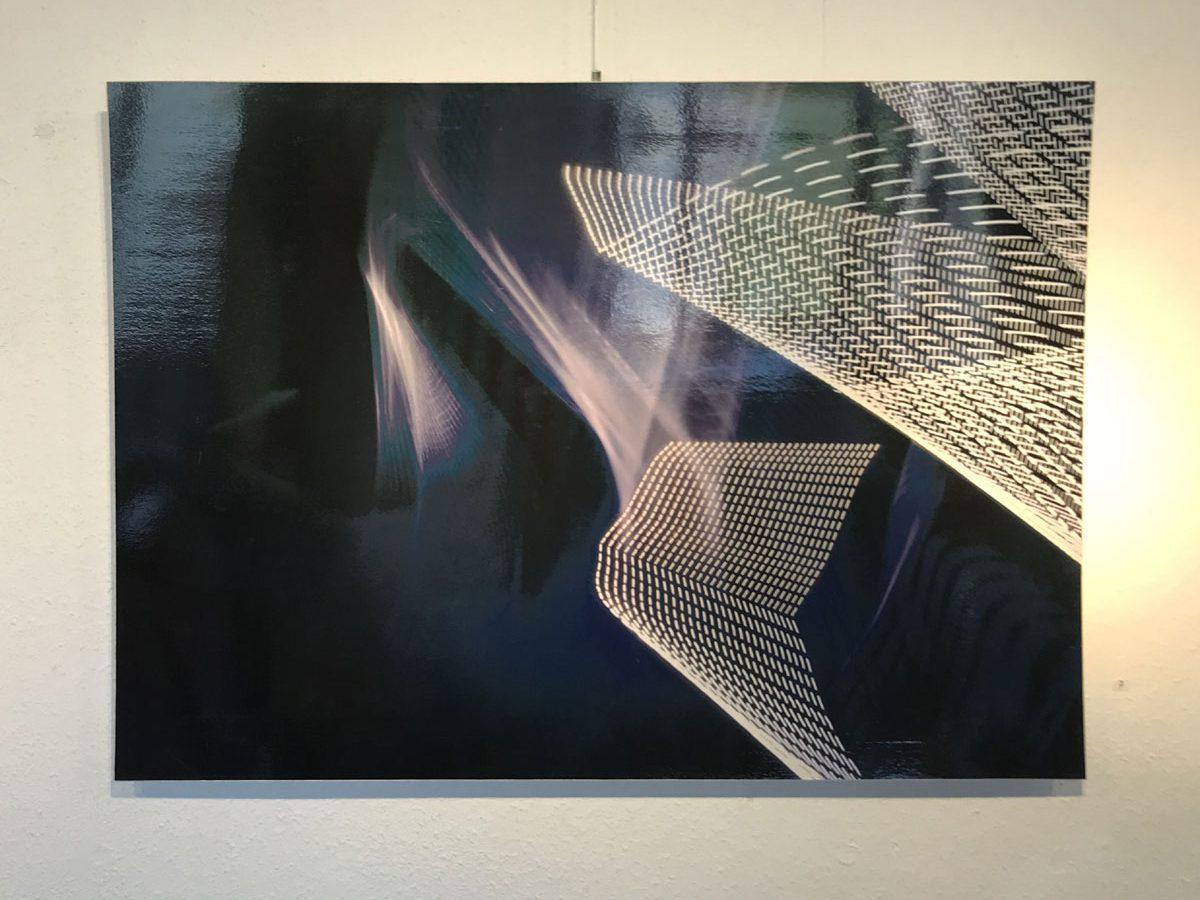 Werk von Hořínek digitale Fotografie aus der Serie Luminographie - 2010