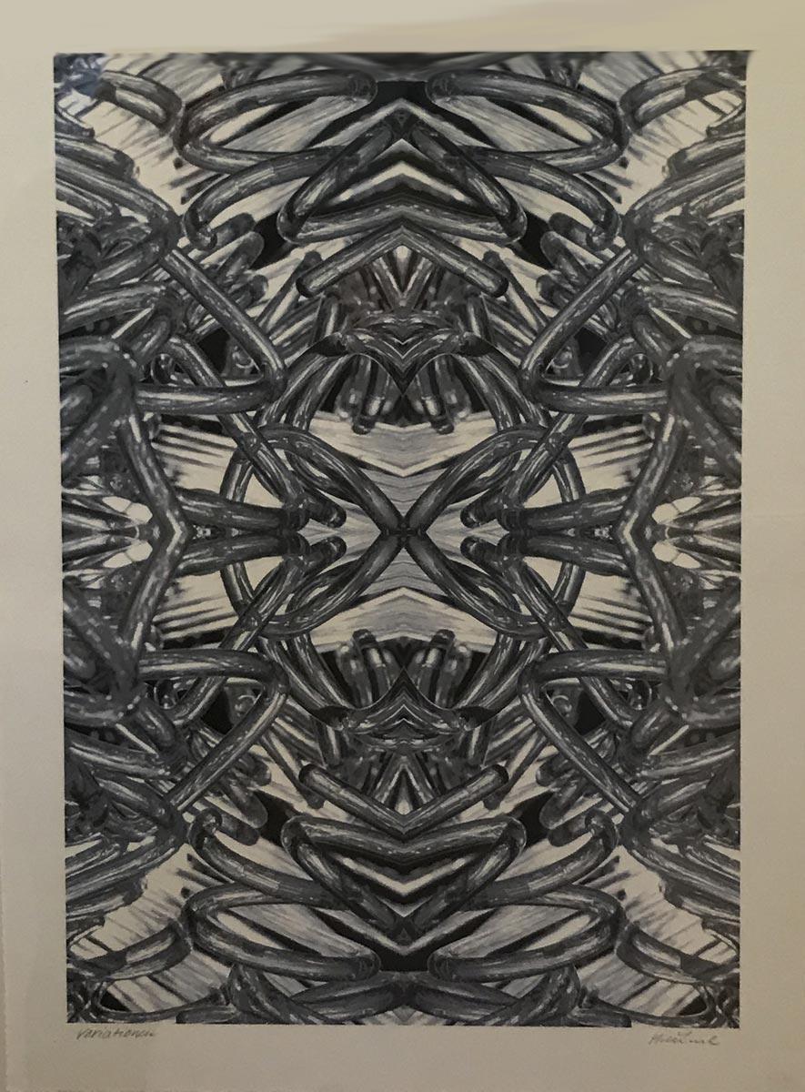 Werk von Hořínek - digitale Fotografie - Serie Variationen 2019 - 60 x 42 cm