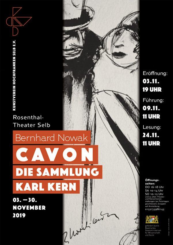 Ausstellungsplakat CAVON