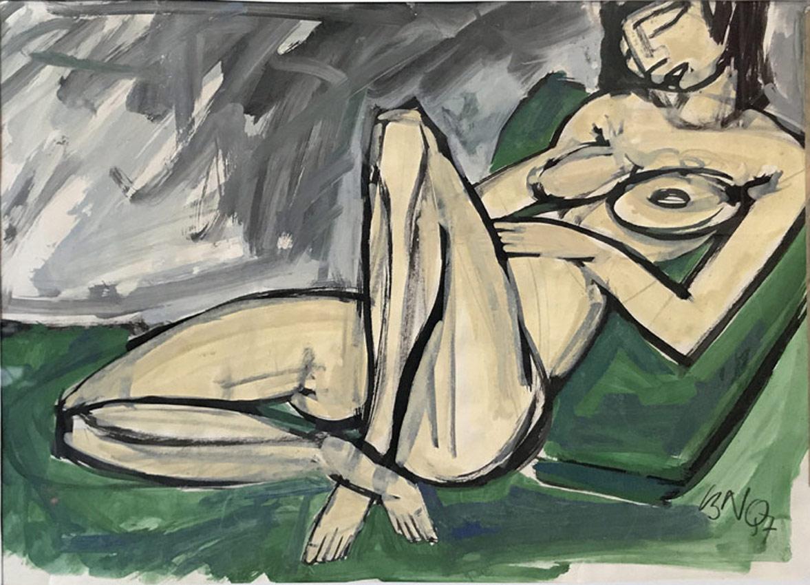 Werk von Cavon Ohne Titel 1957 Gouache