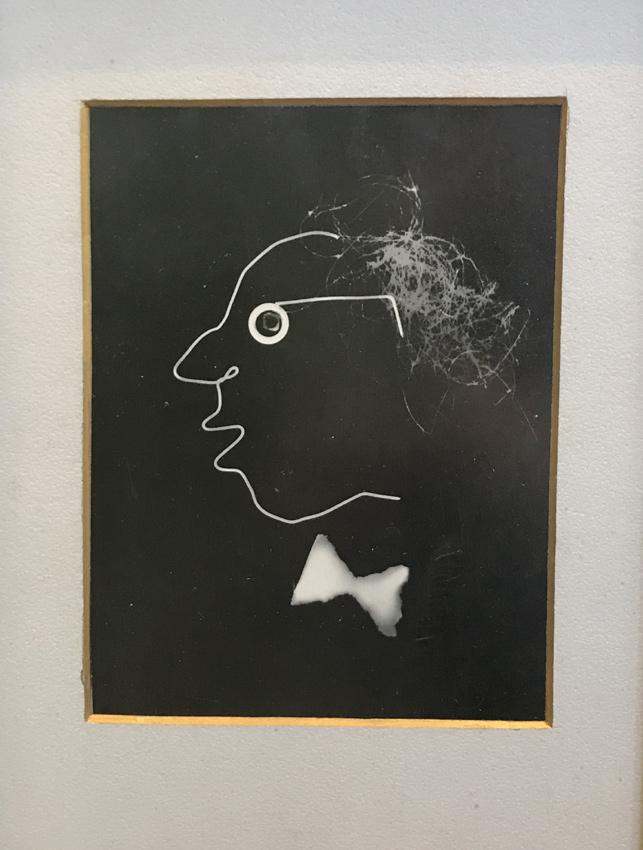 Selbstportrait CAVON um 1948