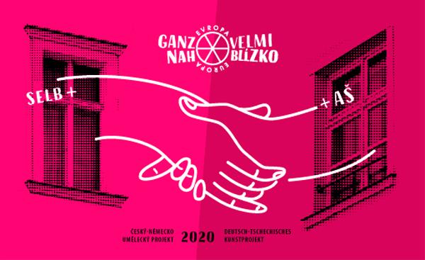 Plakat deutsch-tschechisches Kunst-Projekt 2020