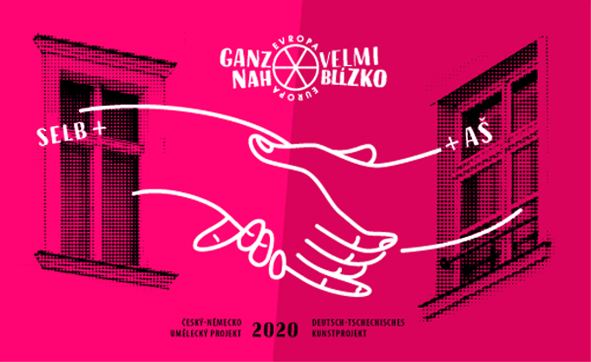Plakat Deutsch-Tschechisches -Kunst-Projekt 2020