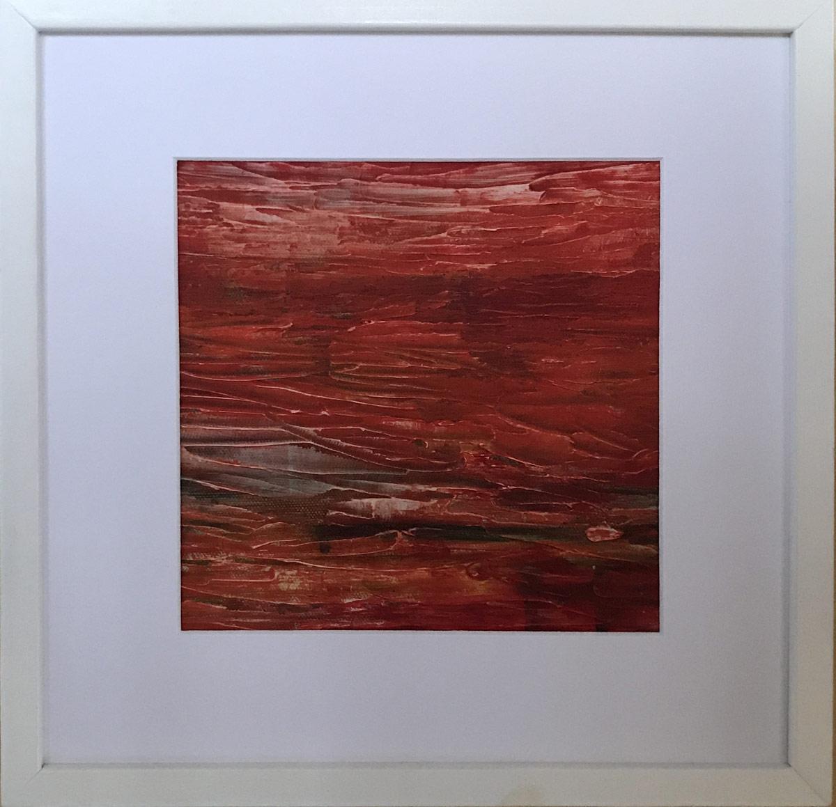 """Werk von Elisabeth Kiessling - Titel:""""Strukturen"""" - Technik: Acryl"""