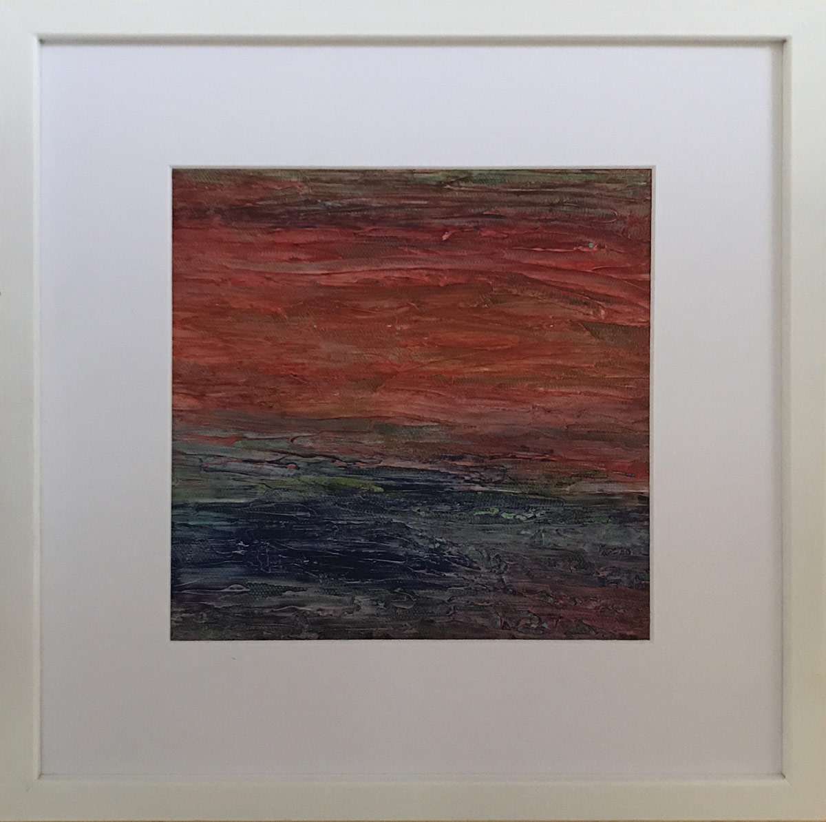 """Werk von Elisabeth Kiessling - Titel:""""Strikturen"""" - Technik: Acryl"""