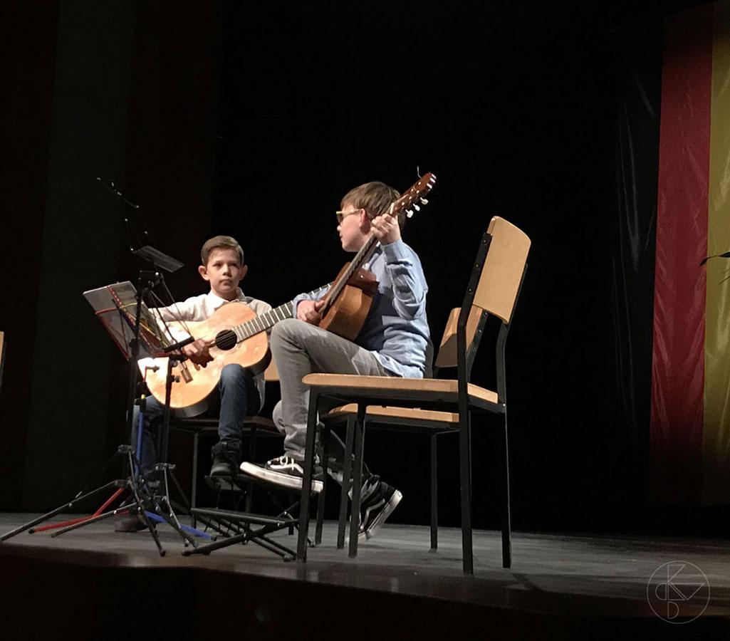 Schüler der Selber Musikschule